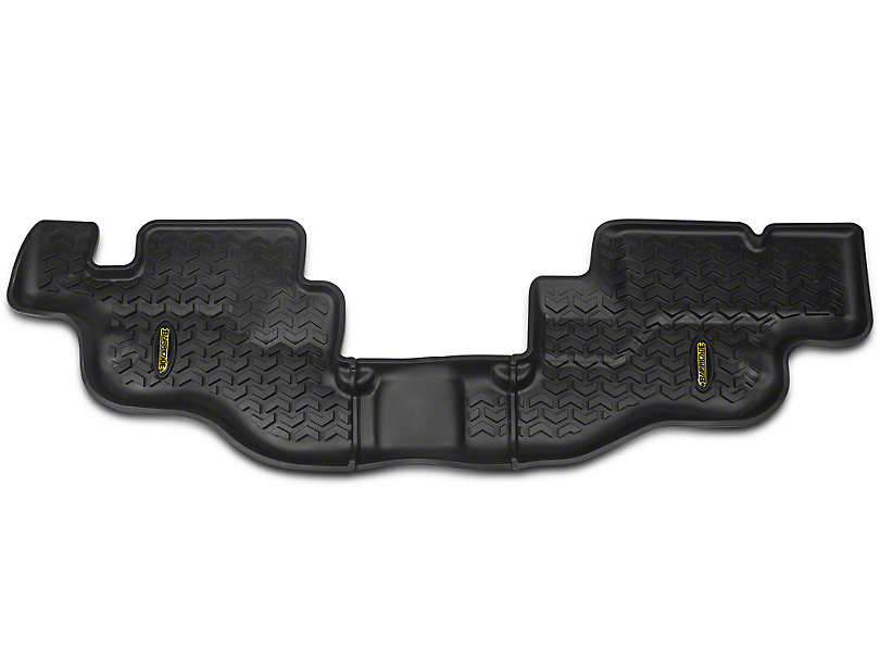 Barricade All Terrain Rear Floor Mat - Black (87-95 Jeep Wrangler YJ)