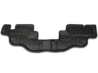 Barricade All Terrain Rear Floor Liner - Black (87-95 Jeep Wrangler YJ)