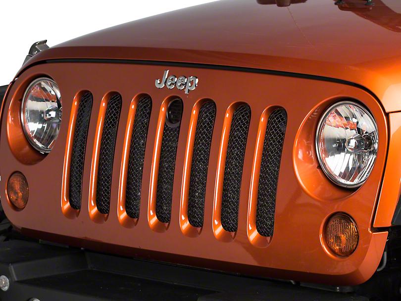 T-REX Sport Series Formed Mesh Grille w/ Hood Lock Access (07-18 Jeep Wrangler JK)