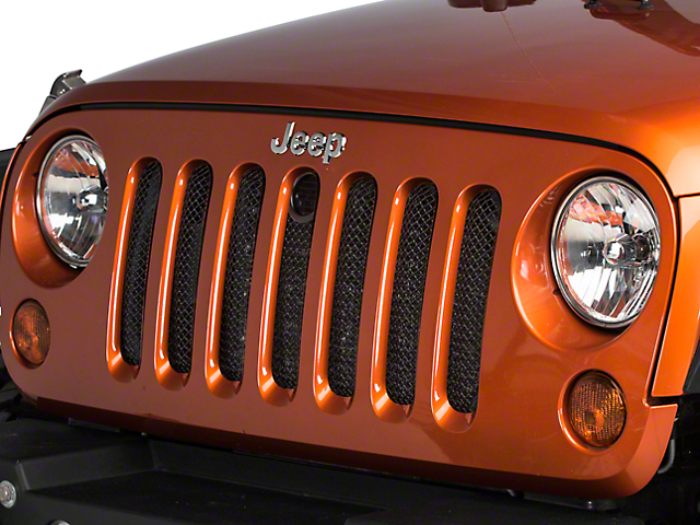 T-REX Sport Series Mesh Grille with Hood Lock Access (07-18 Jeep Wrangler JK)