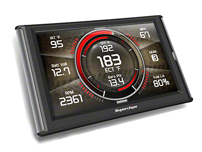Superchips TrailDash2 (07-11 Jeep Wrangler JK)