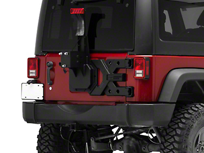 Rugged Ridge Spartacus HD Tire Carrier Kit (07-18 Wrangler JK; 2018 Wrangler JL)