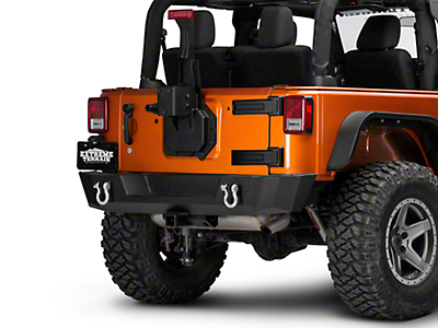 Rugged Ridge Spartacus HD Tire Carrier - Wheel Mount (07-18 Wrangler JK)
