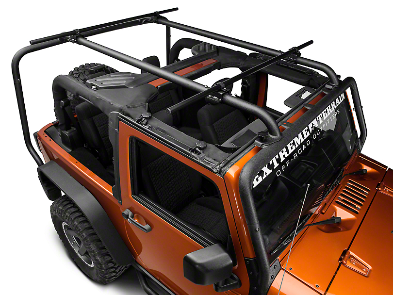 Rugged Ridge Sherpa Roof Rack Kit (07-18 Jeep Wrangler JK 2 Door)