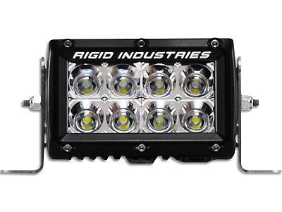 Rigid Industries 4 in. E Series LED Light Bar - Flood Beam