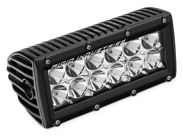 Rigid Industries 6 Inch E Series LED Light Bar; Flood Beam