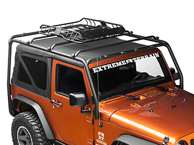 Barricade X-Tray Roof Rack Basket (87-18 Jeep Wrangler YJ, TJ, JK & JL)