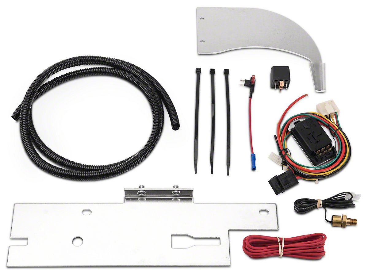 Mishimoto Performance Fan Shroud Kit (87-06 2.5L or 4.0L Jeep Wrangler on