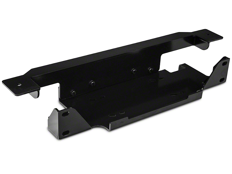 Rugged Ridge Spartacus Winch Plate - Steel (07-18 Jeep Wrangler JK)