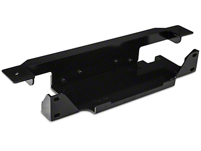 Rugged Ridge Spartacus Winch Plate - Steel (07-18 Wrangler JK)