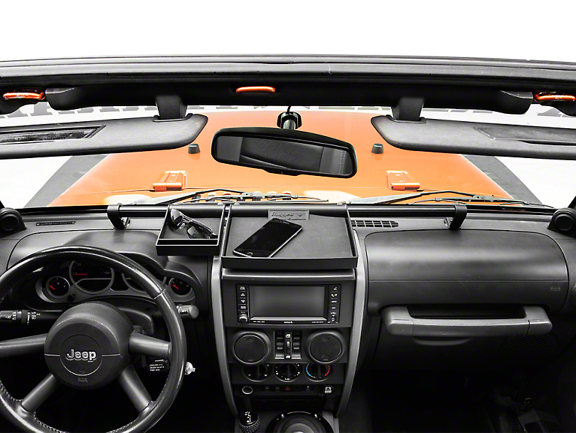 Rugged Ridge 4 Piece Interior Storage Kit (07-10 Jeep Wrangler JK)