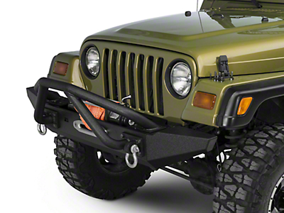 Rugged Ridge XHD Front Bumper Kit w/ Striker Bar & Standard Bumper Ends (87-06 Wrangler TJ & YJ)