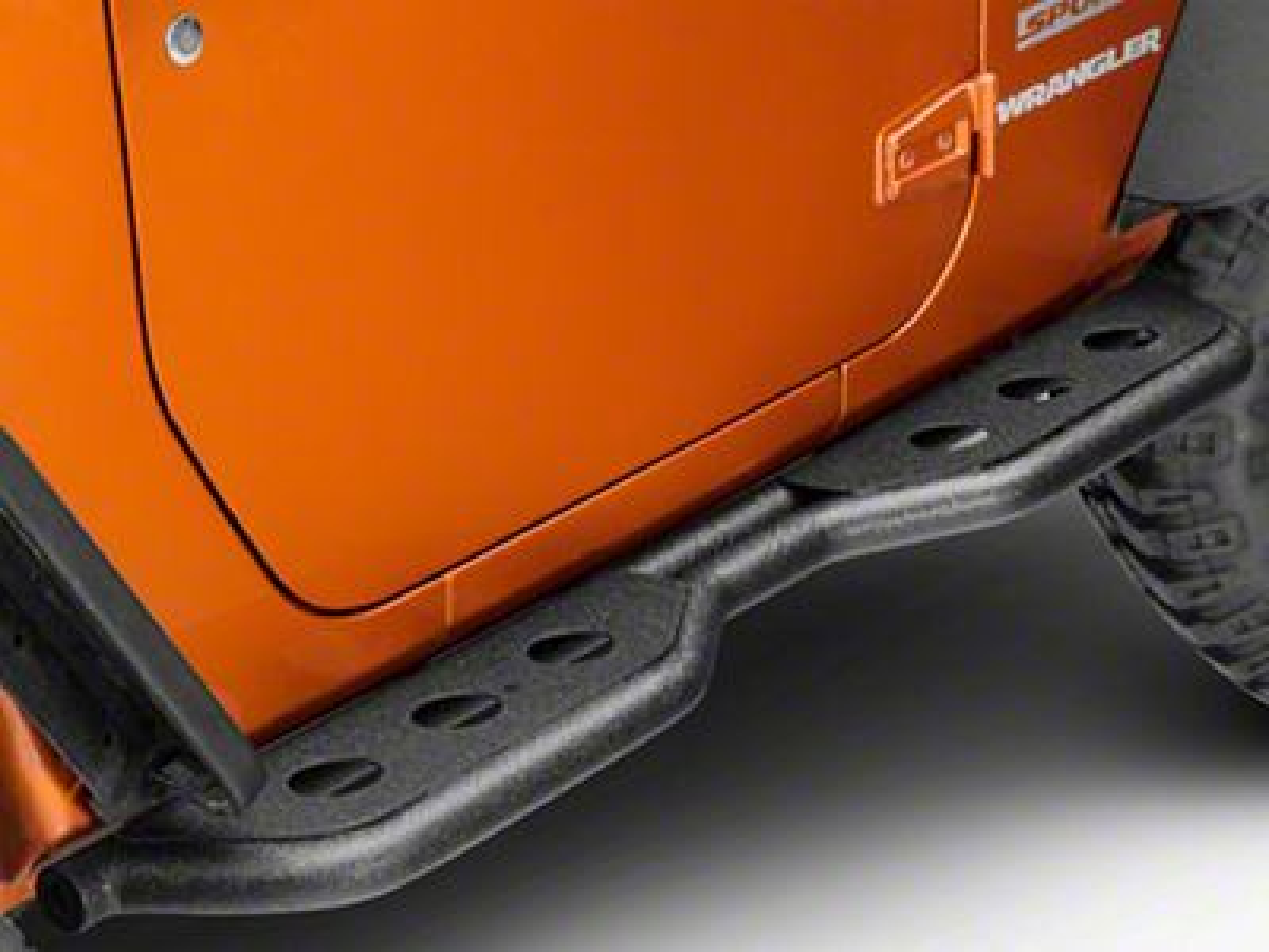 Barricade Jeep Wrangler Extreme HD Rocker Steps J103995 ...