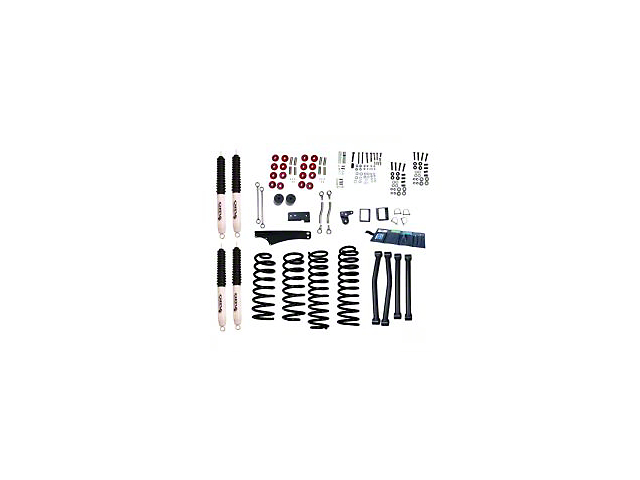 Rugged Ridge 4-5 in. ORV Suspension Lift Kit w/ Shocks (07-18 Jeep Wrangler JK)