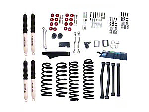 Rugged Ridge 4-5 in. Lift Kit w/ Shocks (07-18 Jeep Wrangler JK)