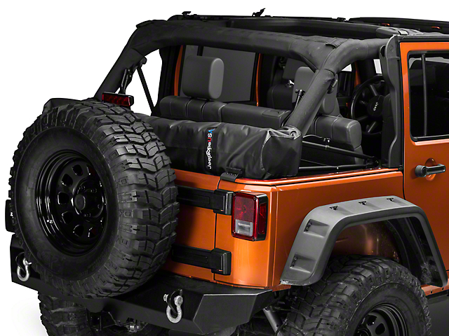 Soft Top Boot   Black (07 18 Jeep Wrangler JK 4 Door)
