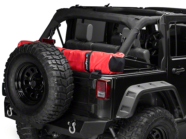 Jtopsusa Jeep Wrangler Soft Top Boot Red Jku Boot Solid