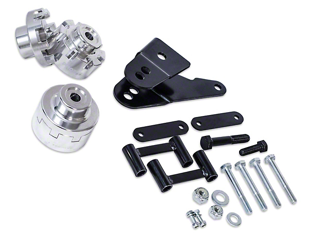 ProRYDE Adjustable Rear Lift Kit (07-18 Jeep Wrangler JK)