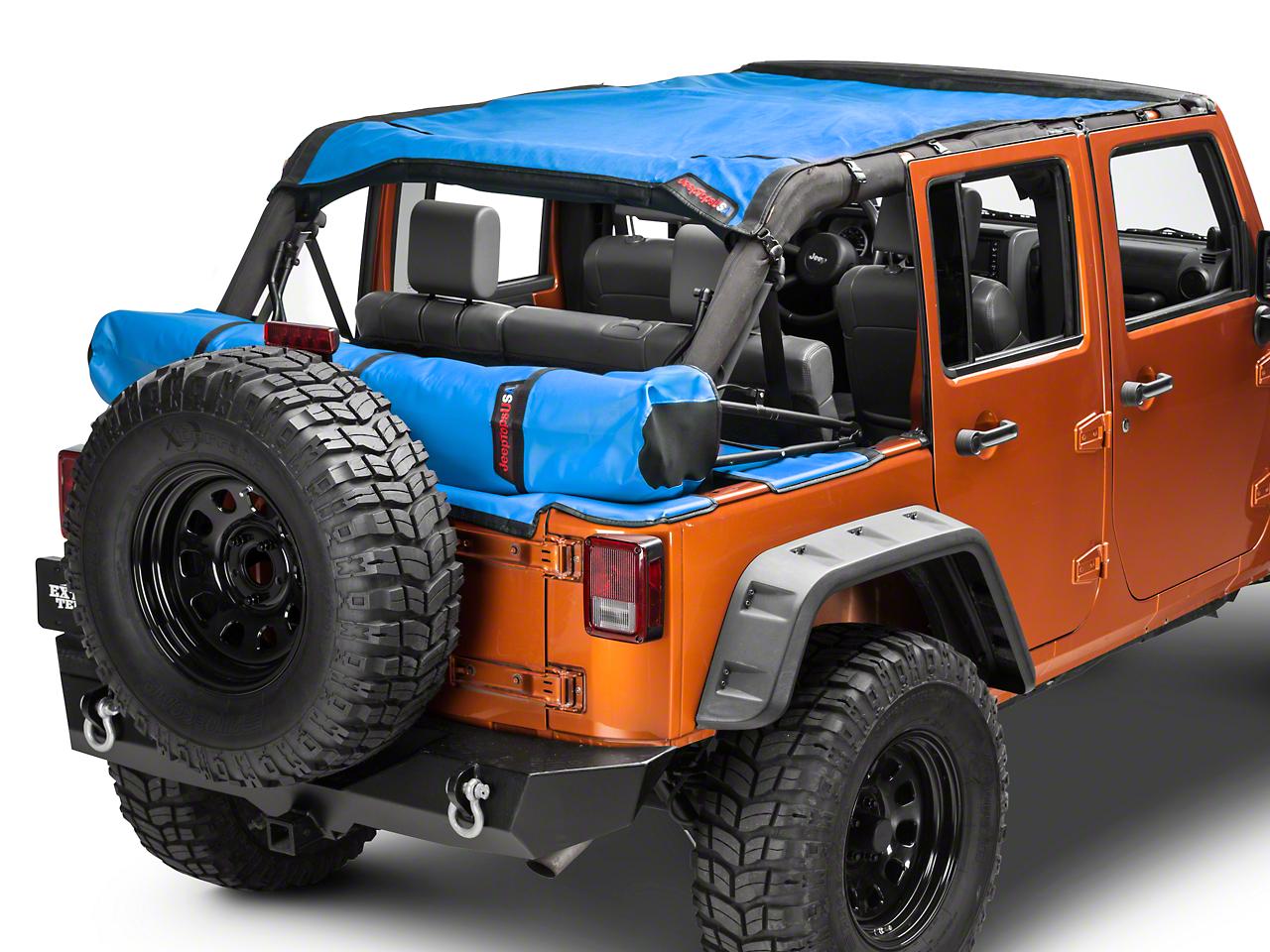 Safari Shade Top Set w/ Tonneau & Boot - Blue (07-18 Wrangler JK 4 Door)