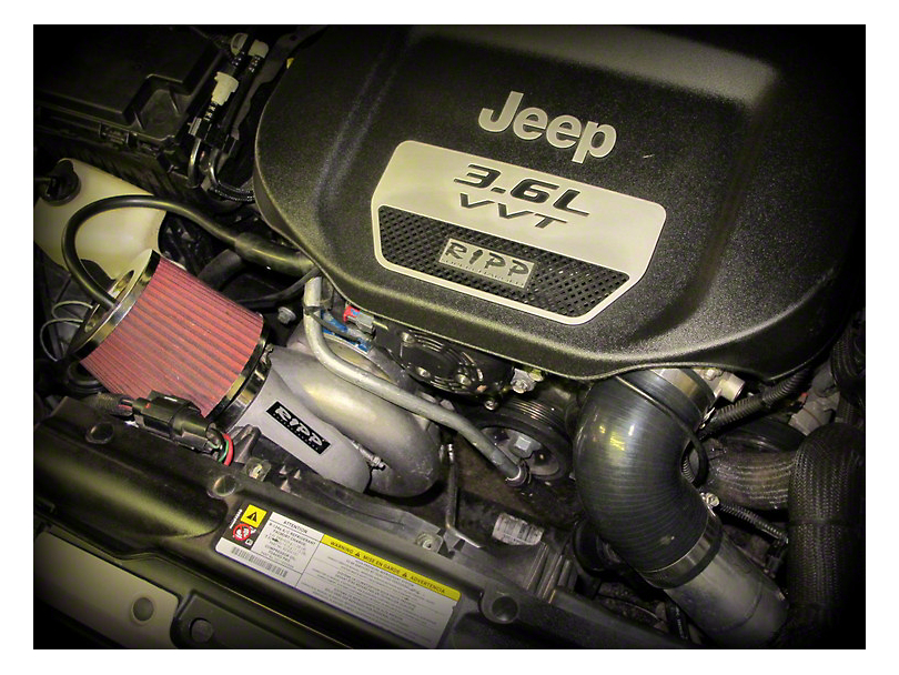 RIPP Supercharger Kit Intercooled (15-17 Jeep Wrangler JK)