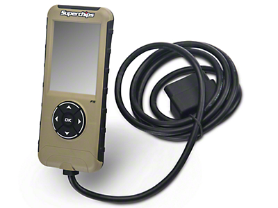 Superchips Flashpaq F5 Programmer (07-11 Wrangler JK)
