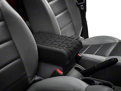 Rugged Ridge Center Console Cover - Black (07-10 Jeep Wrangler JK)