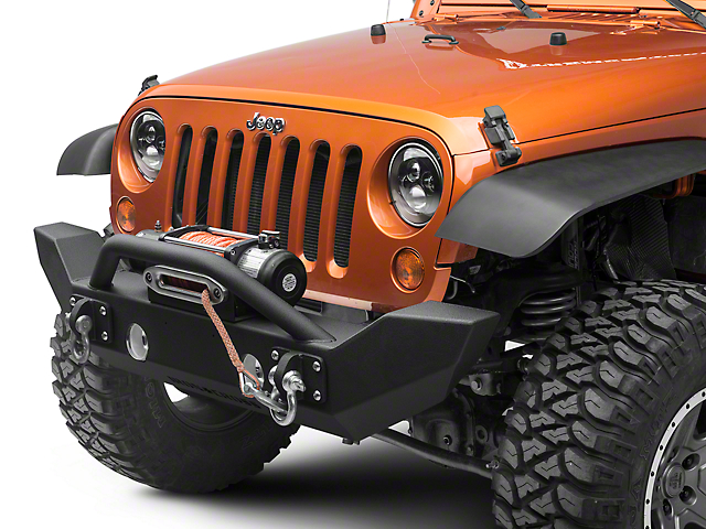 Iron Cross Jeep Wrangler Full Size Front Bumper With Push Bar Gp