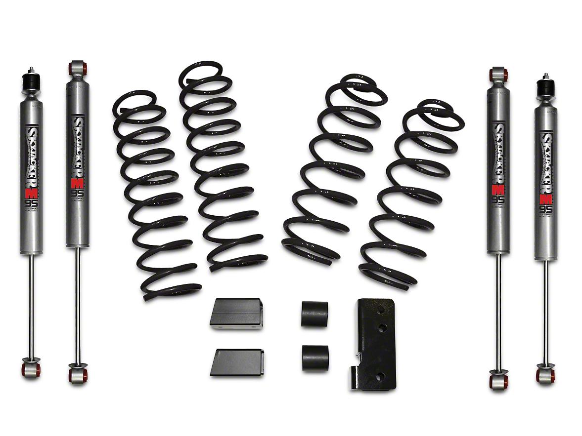 SkyJacker 2.5 in. Softride Lift Kit w/ M95 Shocks (07-18 Jeep Wrangler JK 4 Door)