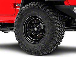Rugged Ridge Trail Runner Classic Black Steel Wheel with Center Cap; 17x9 (18-20 Jeep Wrangler JL)