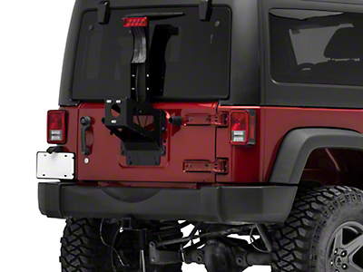 MORryde Heavy Duty Spare Tire Carrier (07-18 Jeep Wrangler JK)