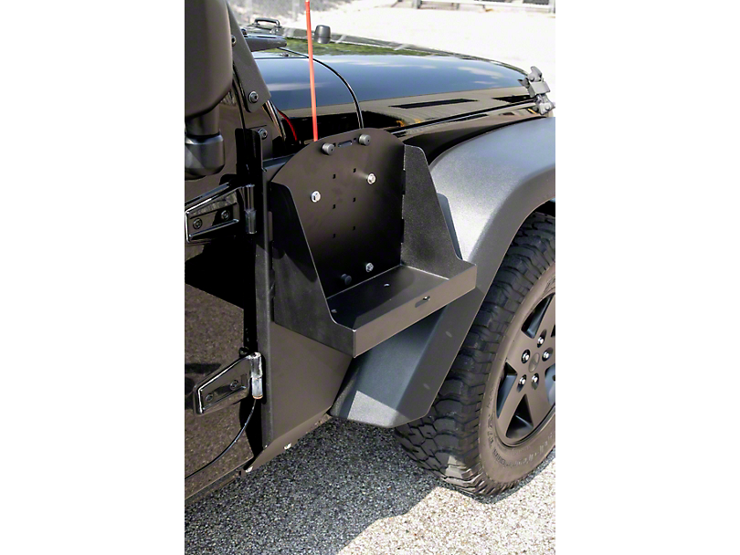 MORryde Jerry Can Side Mount Tray (07-18 Jeep Wrangler JK)