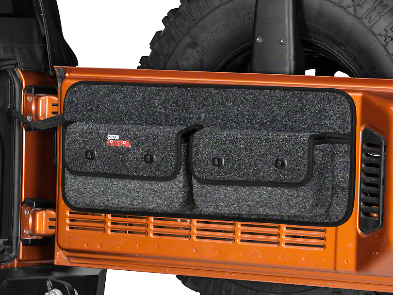 Covercraft Custom Pocket Pod (07-10 Wrangler JK w/o Subwoofer)
