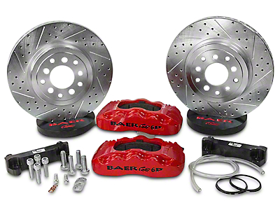 Baer 13.5 in. Front Pro Brake System - Red (07-18 Wrangler JK)