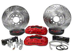 Baer Pro Front Big Brake Kit - Red Calipers (07-18 Jeep Wrangler JK)