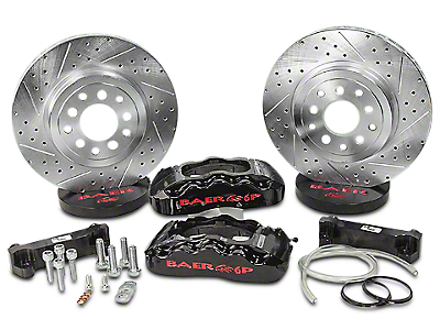 Baer 13.5 in. Front Pro Brake System - Black (07-18 Jeep Wrangler JK)