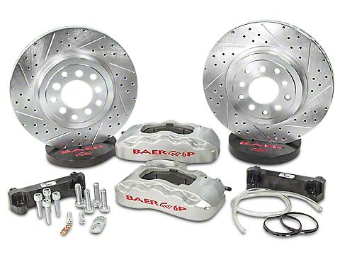 Baer 13.5 in. Front Pro Brake System - Silver (07-18 Wrangler JK)