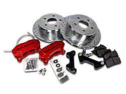 Baer SS4 Rear Big Brake Kit - Red Calipers (07-18 Jeep Wrangler JK)