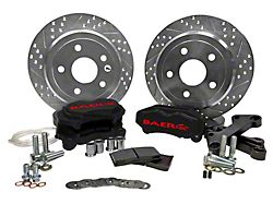 Baer SS4 Rear Big Brake Kit - Black Calipers (07-18 Jeep Wrangler JK)