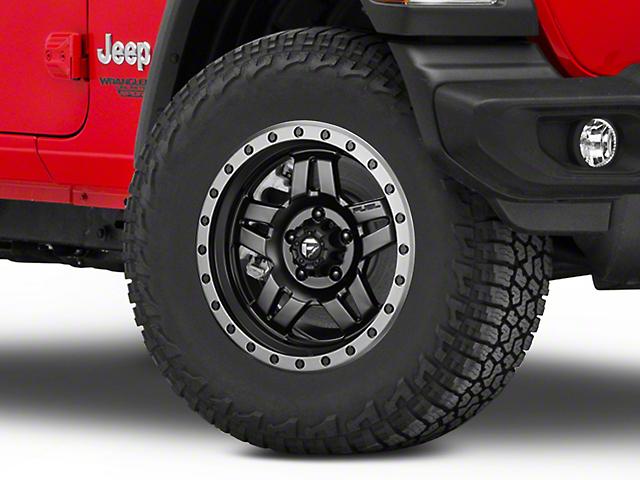 Fuel Wheels Anza Matte Black Wheel - 17x8.5 (18-20 Jeep Wrangler JL)