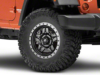 Fuel Wheels Matte Black ANZA Wheel - 17x8.5 (07-18 Wrangler JK)