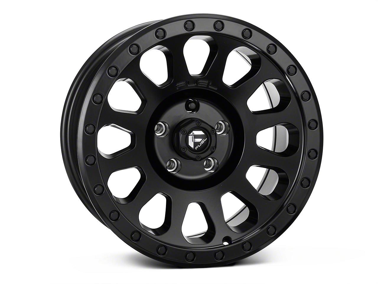 Fuel Wheels Matte Black VECTOR Wheel - 17x8.5 (07-17 Wrangler JK)