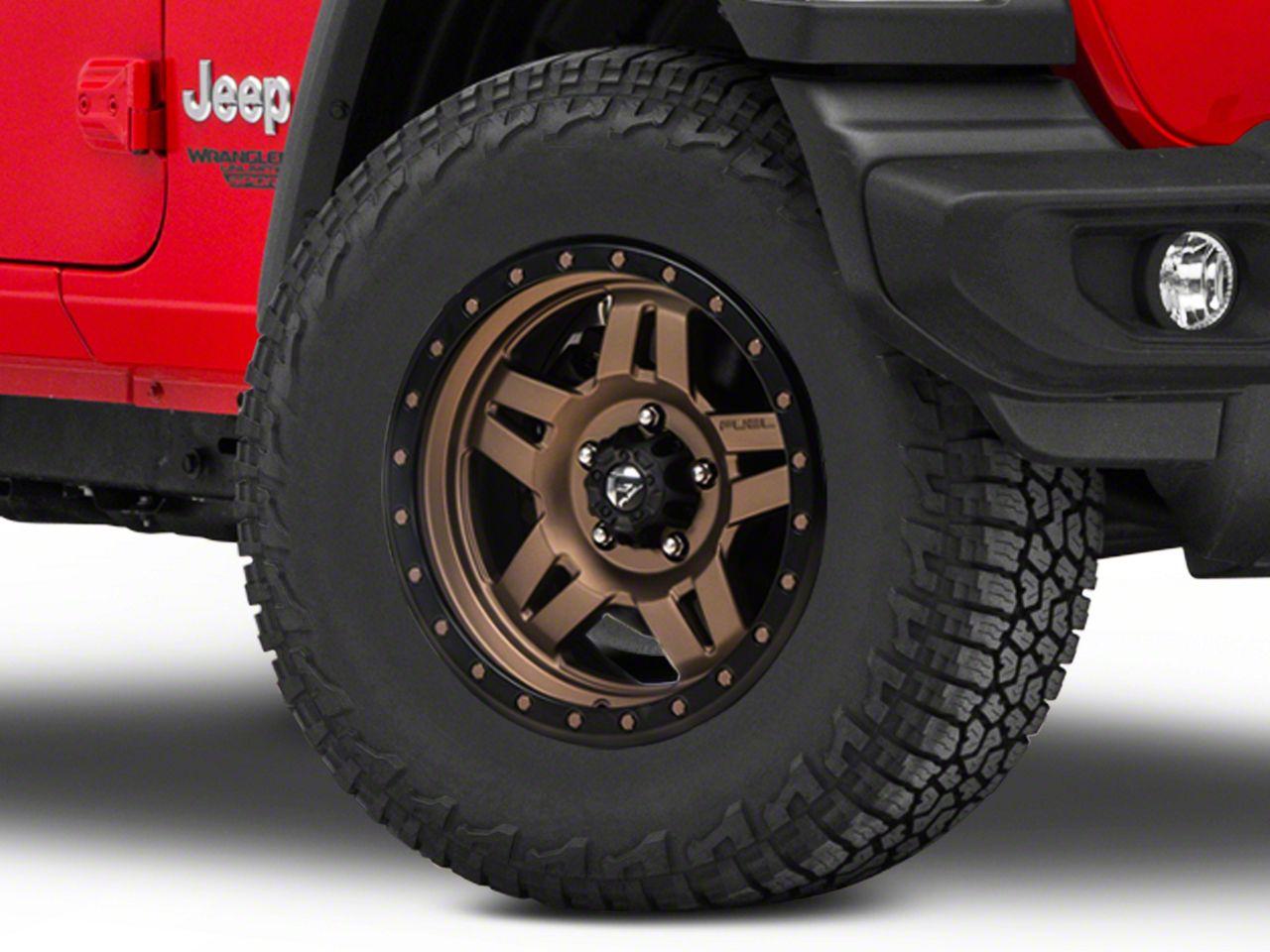 Fuel Wheels Anza Bronze Wheel - 17x8.5 (18-19 Jeep Wrangler JL)