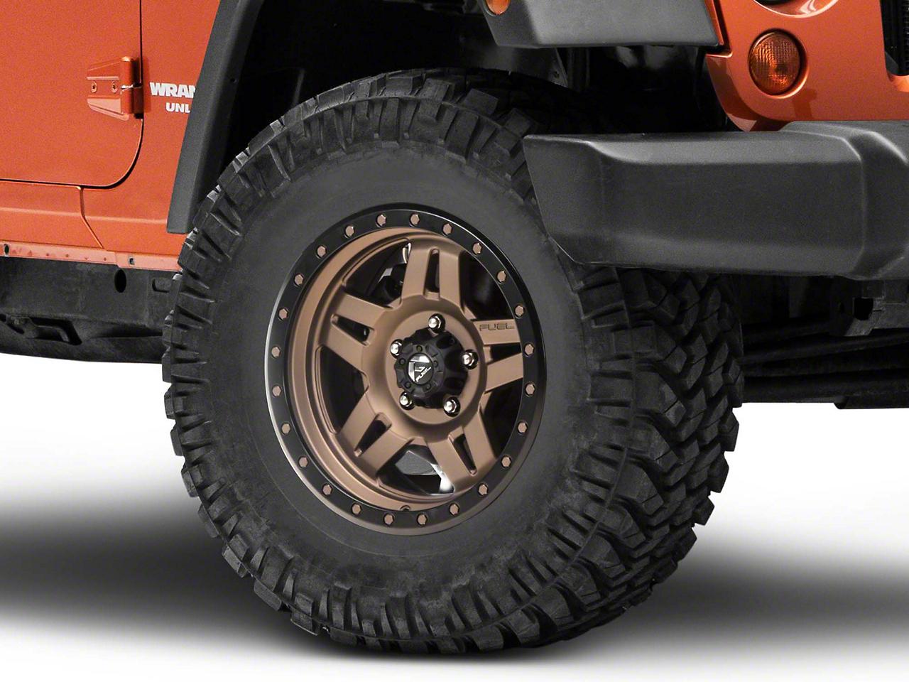 Fuel Wheels ANZA Bronze Wheel - 17x8.5 (07-18 Jeep Wrangler JK; 2018 Jeep Wrangler JL)