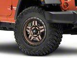 Fuel Wheels Anza Bronze Wheel; 18x9 (07-18 Jeep Wrangler JK)