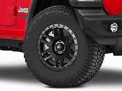 Fuel Wheels Recoil Matte Black Wheel; 17x8.5 (18-20 Jeep Wrangler JL)