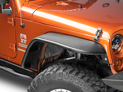 DV8 Off-Road Flat Tube Fender Flares (07-18 Jeep Wrangler JK)
