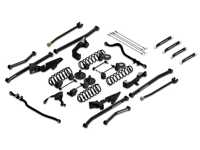 Teraflex Jeep Wrangler 4 in. Sport S/T4 Suspension System