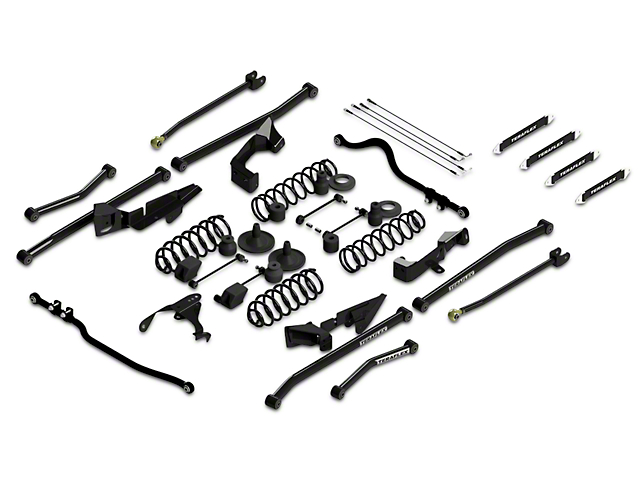 Teraflex 4-Inch Sport S/T4 Suspension Lift Kit (07-18 Jeep Wrangler JK 2 Door)