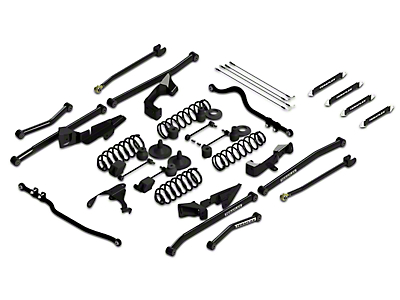 Teraflex 4 in. Sport S/T4 Suspension System w/o Shocks (07-18 Wrangler JK 4 Door)