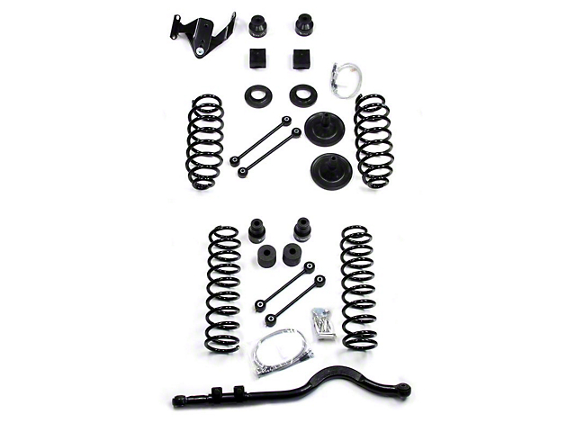 teraflex wrangler 4 in  lift kit w  o shocks 1151400  07